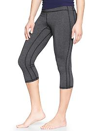 GapFit heathered capris