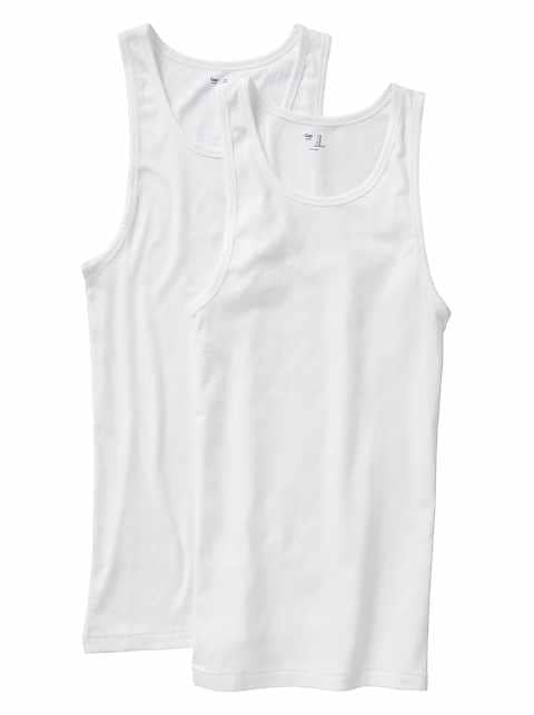 Ribbed tank (2-pack)