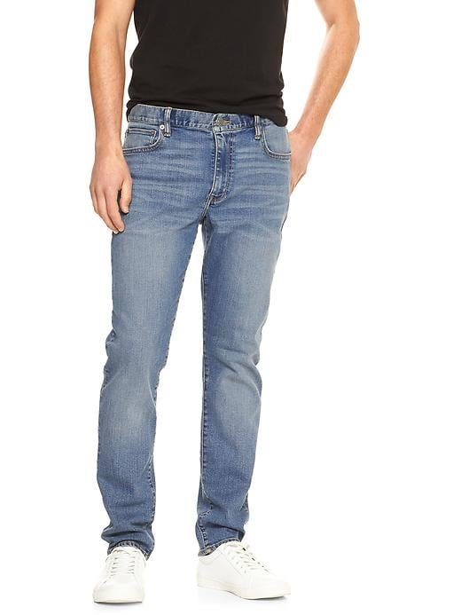 Gap Factory Slim Stretch Men's Jeans (Light wash)