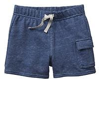 Factory french terry cargo shorts