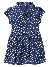Dot bow dress