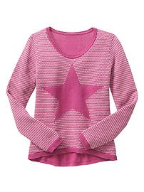 Instarsia heart sweater