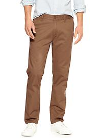 Lived-in tapered khaki