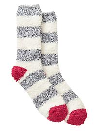 Cozy stripe socks