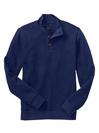 Mockneck pullover
