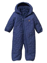 Warmest Puffer Quilted One-Piece