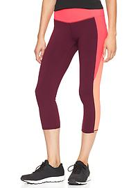 GapFit colorblock legging capris