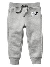 Logo fleece pants
