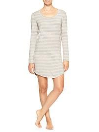 Pure Body modal long-sleeve nightie