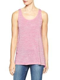 Long softspun knit tank