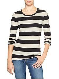 Favorite stripe long-sleeve tee