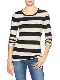 Favorite stripe long-sleeve tee