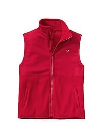 GapFit mix-media zip vest