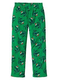 Shark microfleece PJ pants