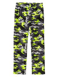 Camo microfleece PJ pants