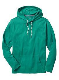 Slub waffle hoodie