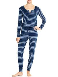 Print sleep jumpsuit