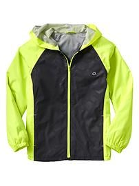 GapFit colorblock windbreaker