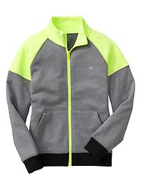 GapFit colorblock track jacket