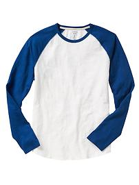 Lived-in baseball tee