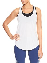 GapFit twist T-back tank