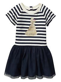 Gap &#124 Disney double-layer terry tulle dress