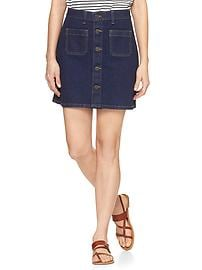 1969 denim skirt