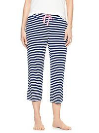 Pure Body stripe capris