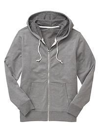 Sun wash zip hoodie