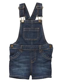 1969 denim shortalls