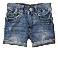 1969 destructed denim shorts
