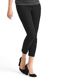 Maternity bi-stretch full panel ultra skinny pants