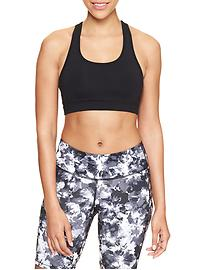 GapFit gFast lattice-back sports bra