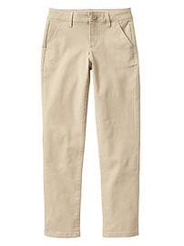 Uniform stretch khakis