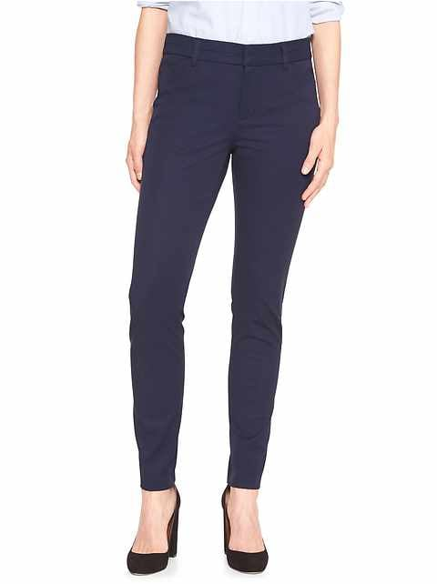 Slim City Pant in Bi-Stretch