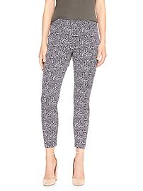Cropped slim city pant