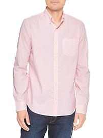 Stretch poplin shirt (slim fit)