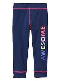 Space-dyed leggings