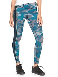 GapFit gFast print colorblock leggings