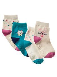 Graphic socks (4-pack)