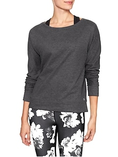 GapFit fleece pullover