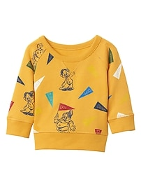 babyGap &#124 Disney Baby Snow White and the Seven Dwarfs raglan pullover
