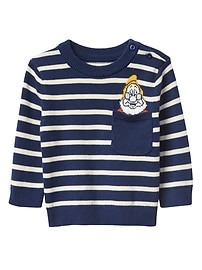 babyGap &#124 Disney Baby Snow White and the Seven Dwarfs stripe sweater