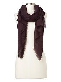 Fringe scarf