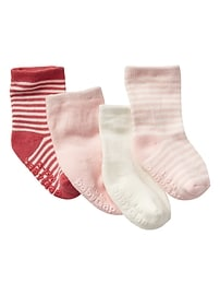 Stripe socks (4-pack)