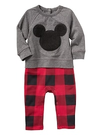 babyGap&#124 Disney Mickey Mouse double layer one-piece