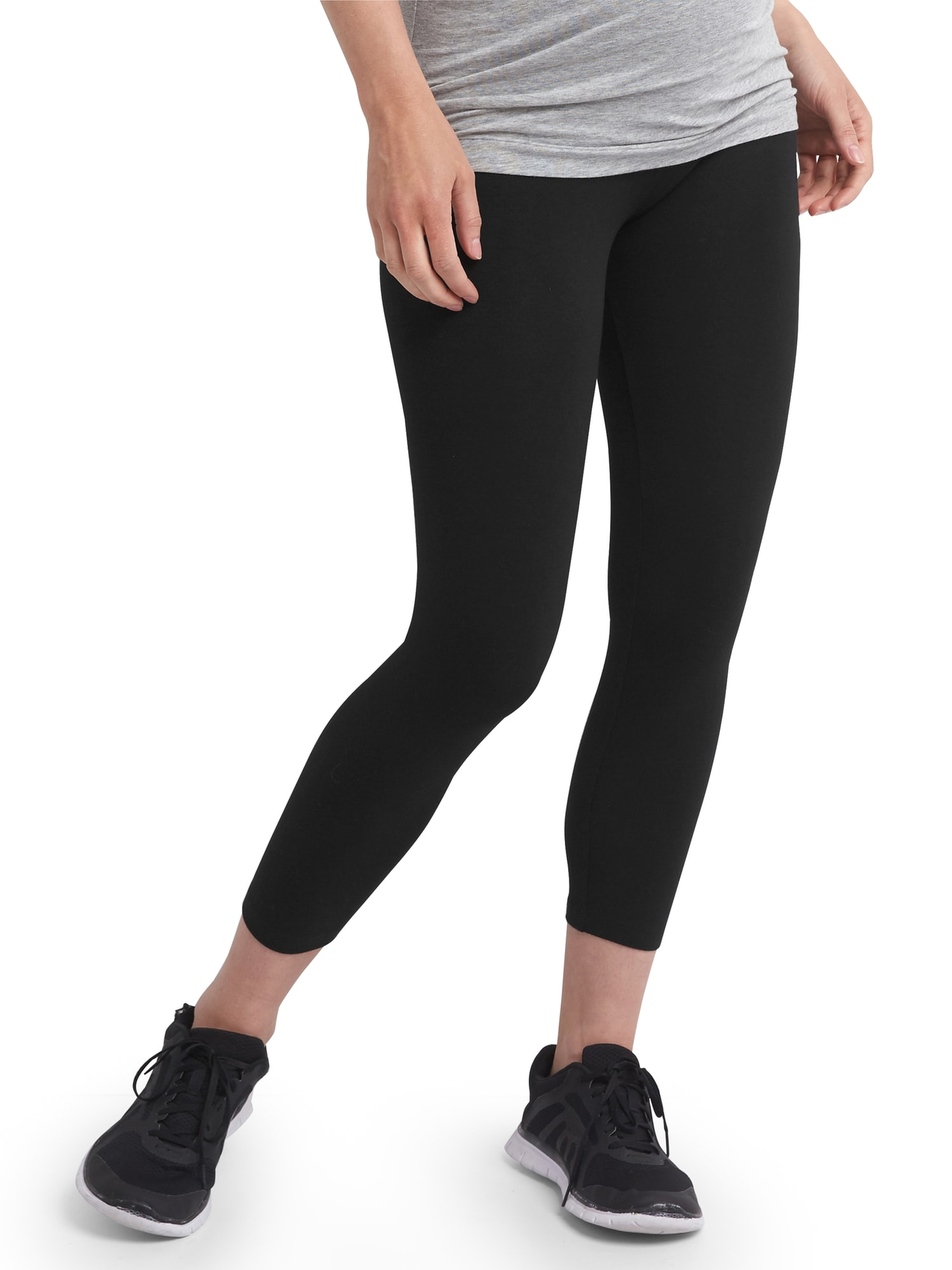 cf23fc2826c987 Maternity Pure Body full panel capri leggings | Gap Factory