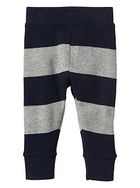 Stripe thermal pants