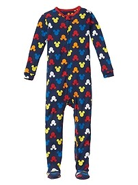 babyGap &#124 Disney Baby Mickey Mouse footed sleep one-piece