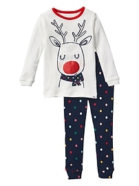 Reindeer sleep set